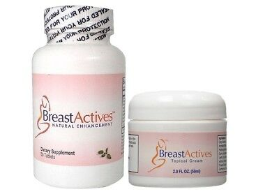 Breast Actives Topical Cream and Dietary Supplement