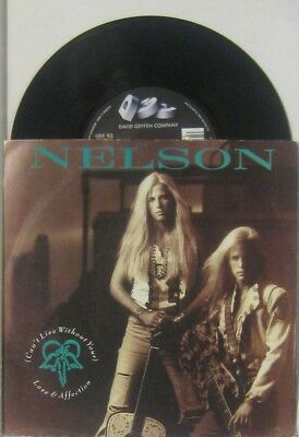 """Nelson i can t live without your / will you love me , 7"""" 45"""