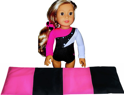 Fits American Girl Doll Gymnastics Outfit Mat 18 inch Doll Clothes Accessories
