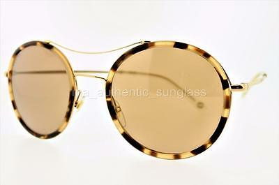 9f3dc77d384a1 GUCCI 4252 NS H7UXS 53mm 4252 N S NEW HAVANA HONEY GOLD FRAME WITH ...