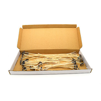 3 cm / 1.2 inch High Quality Pre Waxed Wicks With Sustainers For Candle Making