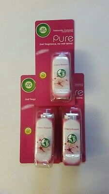 AIRWICK FRESHMATIC COMPACT PURE CHERRY BLOSSOM 24ml  (3 REFILLS)