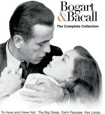 Bogart & Bacall: The Complete Collection  Blu Ray - Sealed Region free