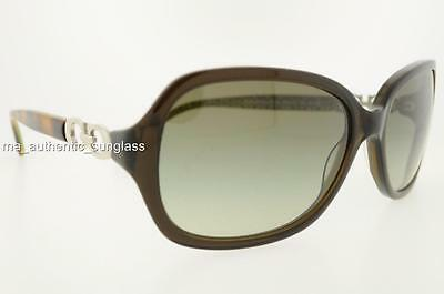 d58c958a60 Coach Sunglasses Hc 8019 L007 Beatrice 50368E Olive Green Gradient  Authentic New