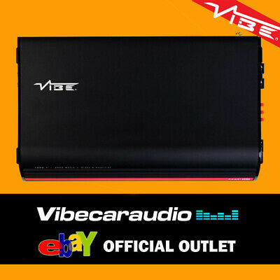 Vibe POWERBOX 1000.1-V7 Monoblock 2000 Watts Class D Amplifier