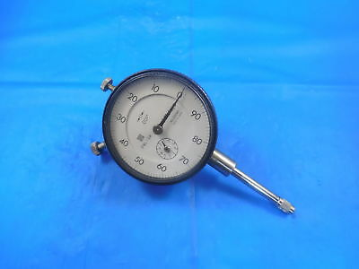 """Mitutoyo No. 2904S Dial Indicator .001 0-1"""" Inspection Tool Machine Shop"""