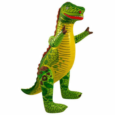 LARGE INFLATABLE DINOSAUR Blow Up Toy Animal Inflate Party Decoration 56cm UK