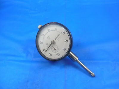 """Mitutoyo No. 2904S Dial Indicator .001 0-1"""" #2904S Machine Shop Inspection Tool"""