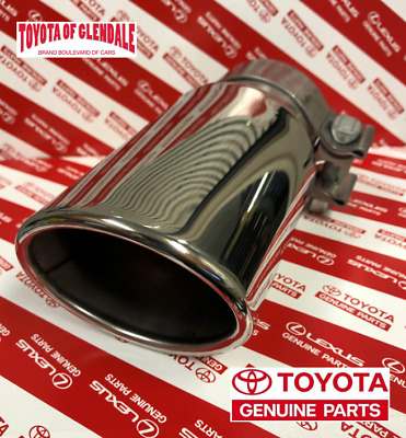 2010-2019 Toyota 4Runner Chrome Exhaust Tip Genuine Oem Pt932-89100 (Fast Ship)