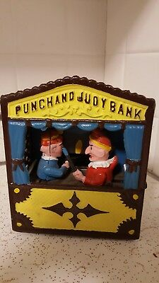 Punch And Judy 1970s Made In Taiwan Bank. Good Condition.