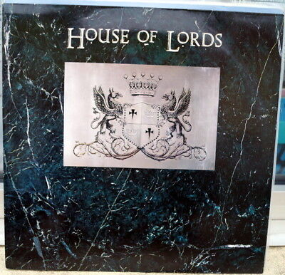 """House Of Lords """"House Of Lords"""" RARE 1988 Hard Rock LP"""