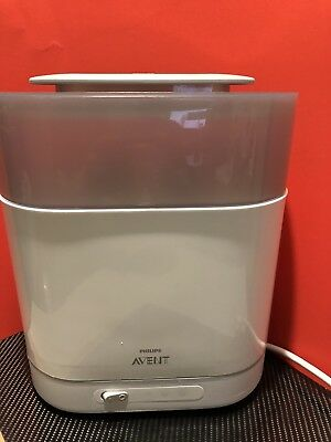 Philips AVENT SCF286 4-in-1 Electric Steam Sterilizer White/Grey Good Condition