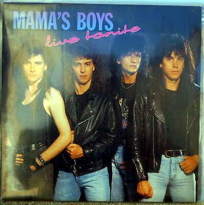 """Mama's Boys """"Live Tonite"""" RARE 1991 Music For Nations LP"""