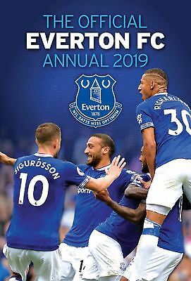 Everton FC Official 2019 Annual Brand New Football Book