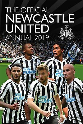 Newcastle United FC Official 2019 Annual Brand New Football Book Utd
