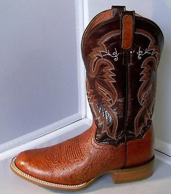 97a3538c9c4 MENS 10.5 MED Dan Post DPP5209 Conrad Smooth Ostrich Boot Round Toe  Handcrafted