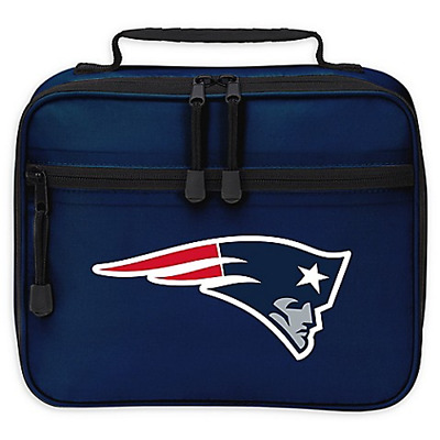 New England Patriots Sacked Lunchbox NEW With Removable Tray