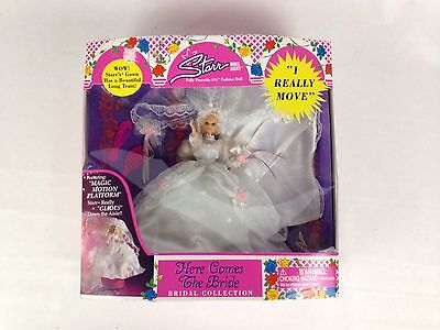 """Starr Model Agency Fashion Doll Here Comes The Bride Poseable 6 1/2"""" New"""