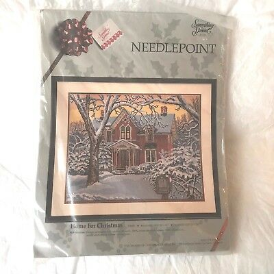 "Candamar Something Special Needlepoint Kit  ""Home For Christmas"""