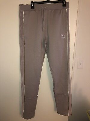 628d85fdaf88 Puma x Big Sean Collab T7 Ash Grey Track Pants Large 57592712 NEW W  TAG