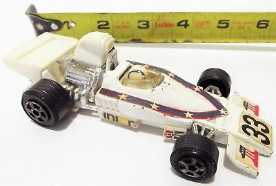 Vintage '1976 Evel Knievel F1 Formula 1 RACE CAR F1 Ideal TOY Diecast & Plastic