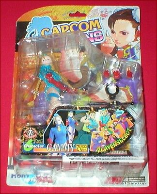 Moby Dick Toys Capcom Street Fighter II Cammy Zero 3 Version Action Figure NEW