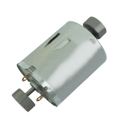 DC6-12V 3000-6000RPM RK370 Double Output Shaft Vibration Motor For Massager
