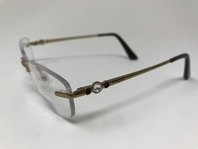 8d59c93101c CHRISTIAN DIOR WOMEN Brown Eyeglasses Frame Black Silver -  40.00 ...