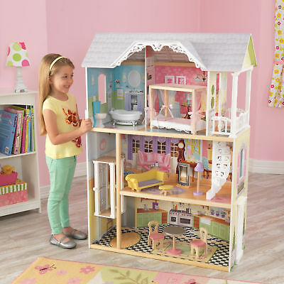 3 Story Victorian Dollhouse Wooden 10 Piece Accessory Kit