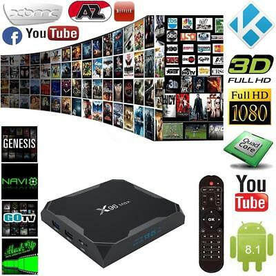 X96 Max TV Set Top Box S905W Network Player Android 8.1 HD 4k Player 1G/8G
