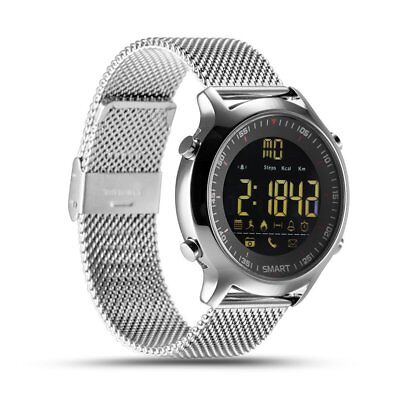 Sliver Bluetooth Smart Watch Bracelet Activity Tracker For Android iOS