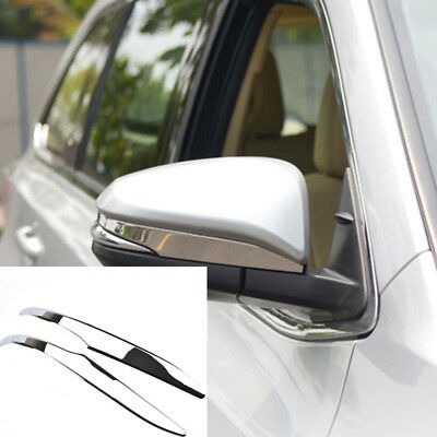 For Toyota Highlander 2014-2018 Chrome Rear View Side Mirror Cover Trim Set