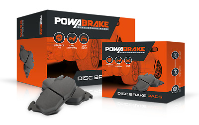DISC BRAKE PADS DB1766 rear set suit VE Commodore Bendix Low dust Smooth Quiet
