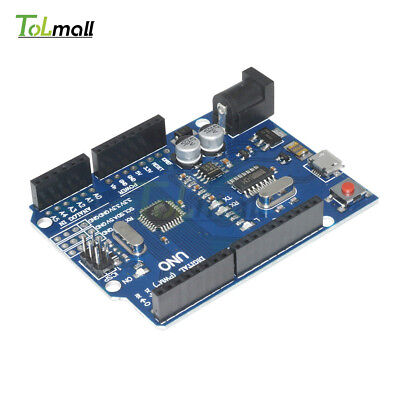 UNO R3 ATMEGA328P-16AU CH340G MICRO USB Development Board Compatible to Arduino