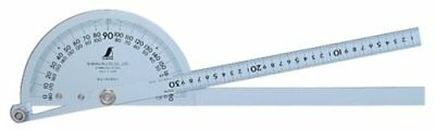 SHINWA Protractor Big 1 Blade Stainless Steel Big Size 600mm 62855
