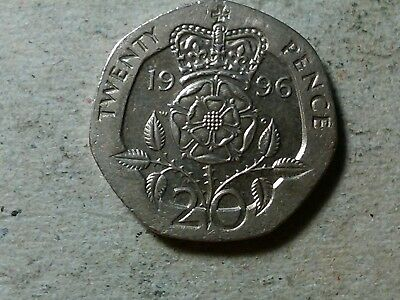 Great Britain 20 pence 1996