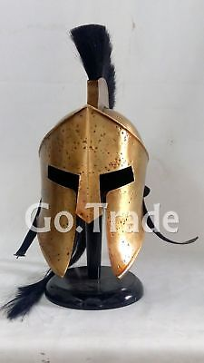 Movie 300 Spartan King Leonidas Medieval Roman Helmet Christmas Gift