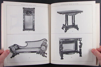 American Antique Federal Furniture Silver Glass Important 1963 Newark Museum