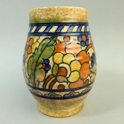 CHARLOTTE RHEAD CROWN DUCAL POTTERY VASE 'BYZANTINE' 1930's