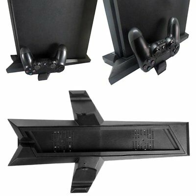 Cooling Fan Vertical Stand For PS4 Pro PS4 Slim Controller Charging Dock Station