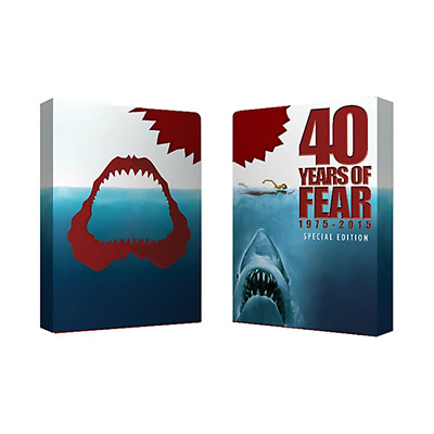 Mazzo di carte Bicycle 40 Years of Fear (Special Edition) Jaws Playing Card