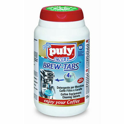 Puly Caff Brew-Tabs Coffee Equipment Cleaning Tablets 120 x 4g - Barista - Clean
