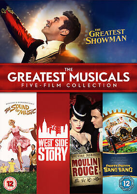 The Greatest Musicals Five-Film Collection (DVD) Inc. The Greatest Showman