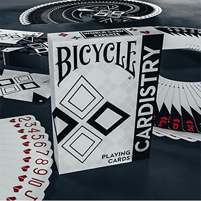 Mazzo di carte Bicycle Cardistry Black and White Playing Cards