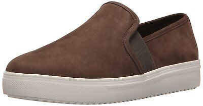 Blondo Womens Riyan Leather Low Top Slip On Fashion Sneakers