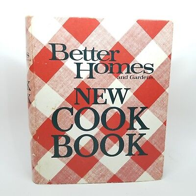 VINTAGE BETTER HOMES AND GARDENS NEW COOK BOOK 1976 Hardcover 5 ring binder
