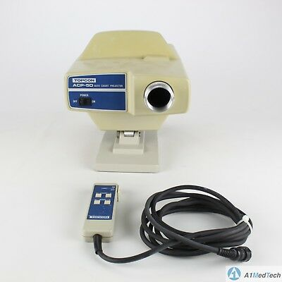 Topcon ACP-5D Opthalamic Eye Care Auto Chart Projector