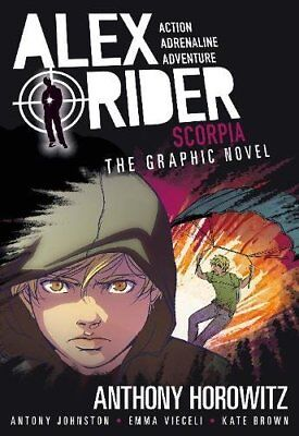 Scorpia Graphic Novel (Alex Rider),Johnston, Antony, Horowitz, Anthony,Very Good