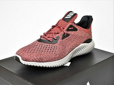 cheaper 217ca d746d Adidas Alphabounce Em M New Mens Running Shoes Lifestyle Red Black Bb9045