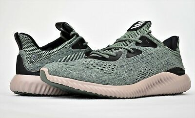 cdc73bd62 Adidas Alphabounce Em M New Men s Running Shoes Lifestyle Ivy Green Bb9042